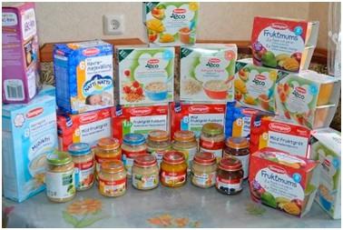 фабричное детское питание